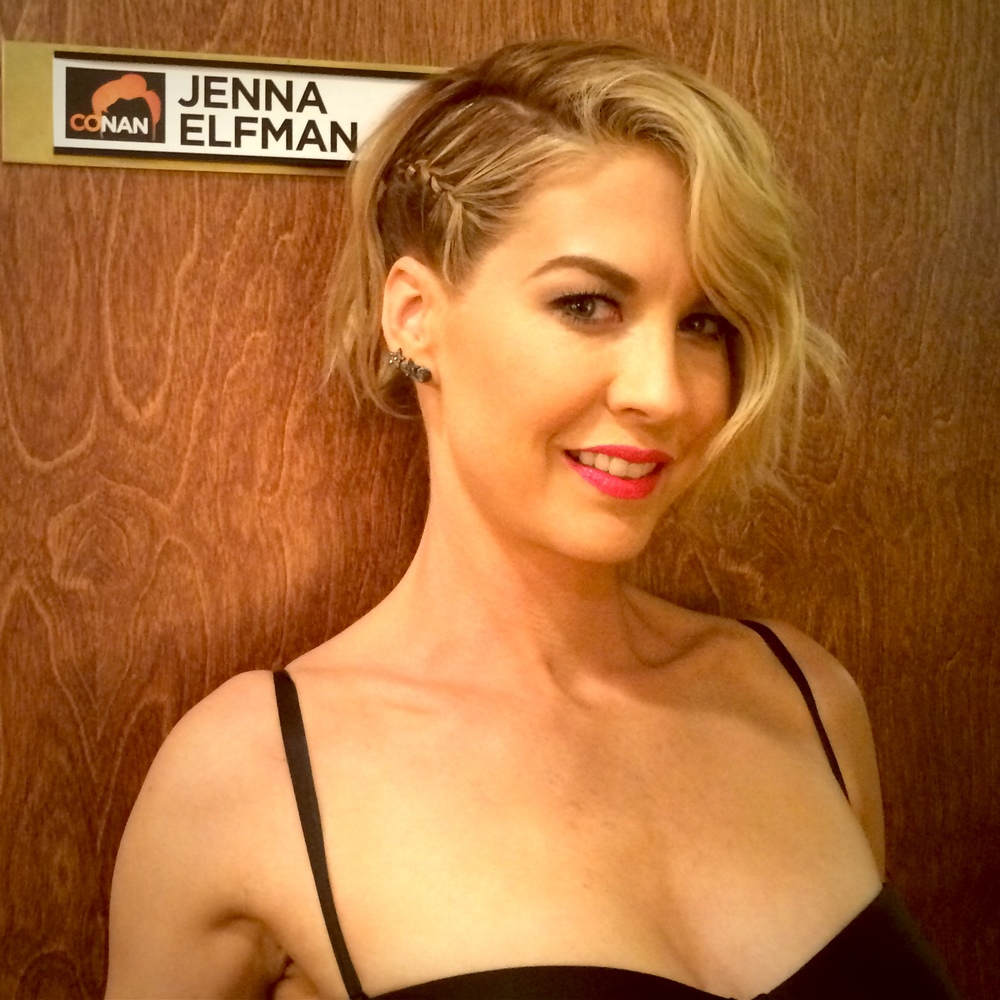 "APRIL 9: ""About to tape Conan (11p on TBS)"""