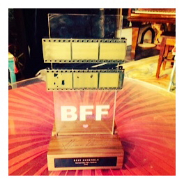 "Big Stone Gap's award for ""Best Ensemble Film"" at the Bentonville Film Festival."