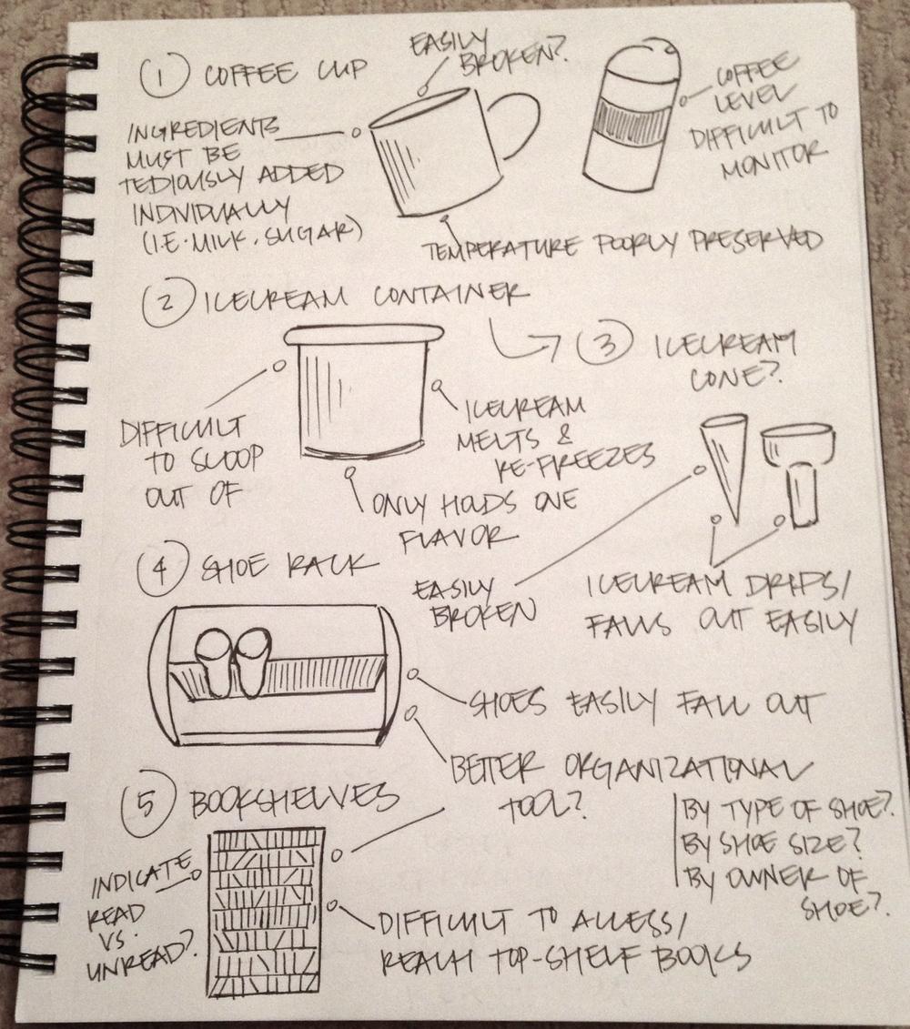 DP3: 100+ Things Brainstorm (1/8)