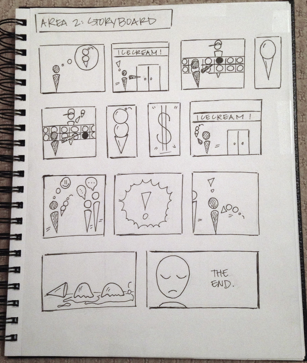 DP3: Storyboard 2 (Icecream Container)