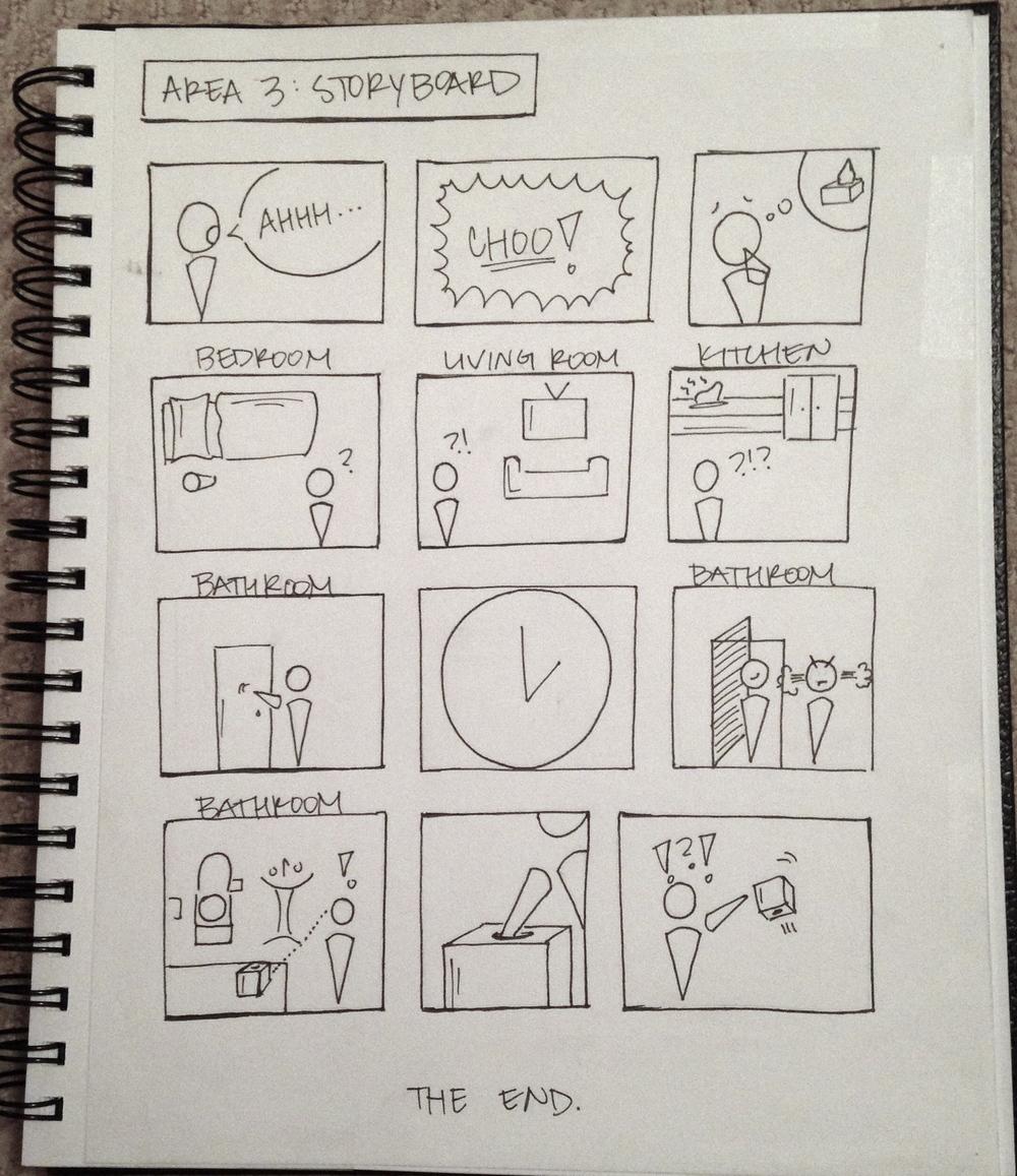 DP3: Storyboard 3 (Tissue Box)
