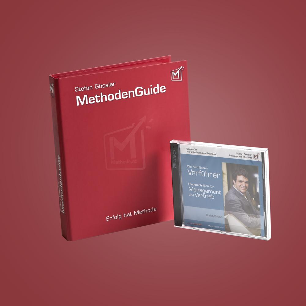 Individualsierbare MethodenGuides machen aus einem kurzen Seminar ein mehrmonatiges Training.
