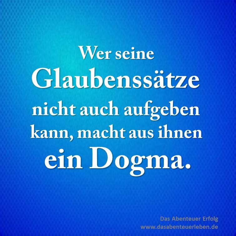 Glaubenssatz-Dogma