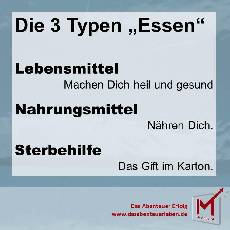 """Die 3-Typen """"Essen"""" [Tweet]"""