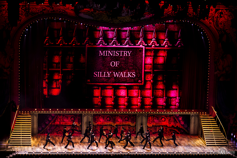 """The """"Silly Walk Song"""" which came next had by far the best and most impressive choreography of the show. Outstanding!"""