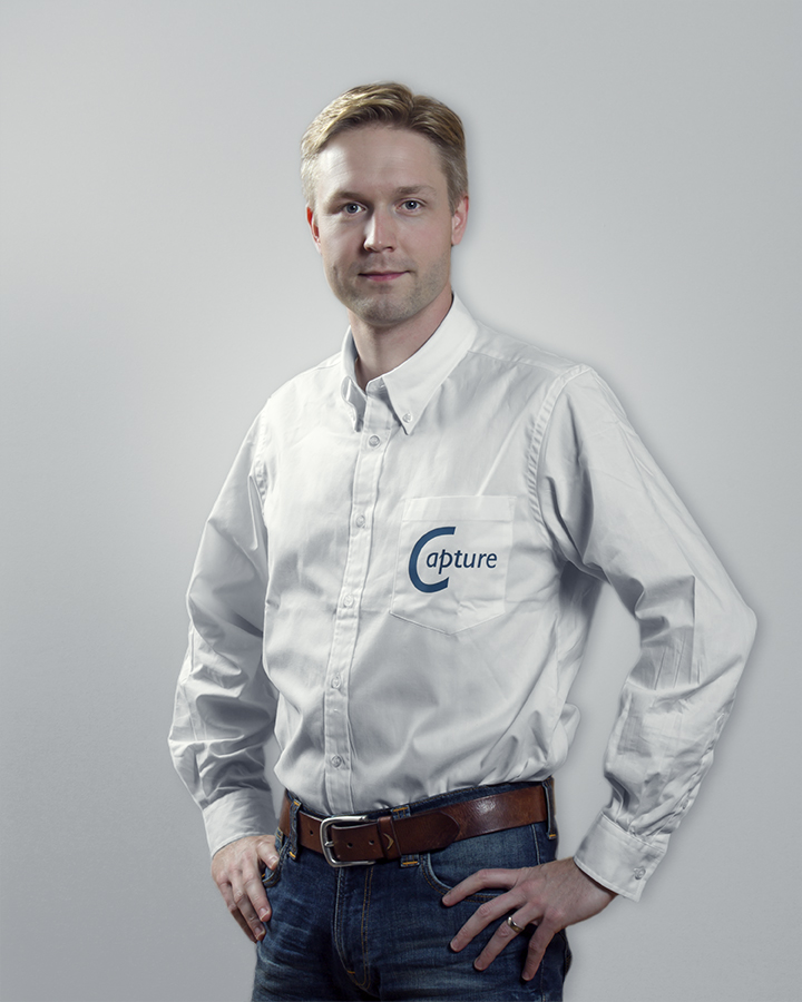 Lars Wernlund, the technical director of Capture