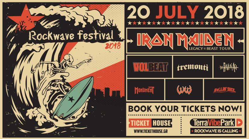 Rockwave Festival 2018 - Volbeat, Tremonti, The Raven Age, Monument + more_header.jpg