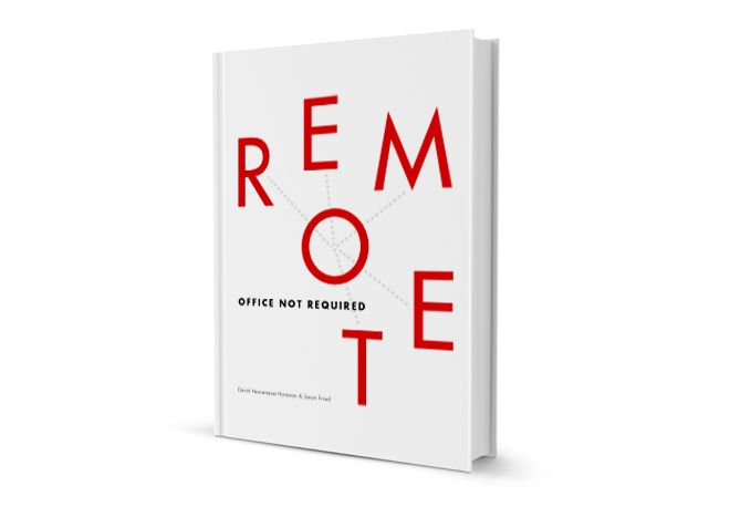 Remote  by: 37signals