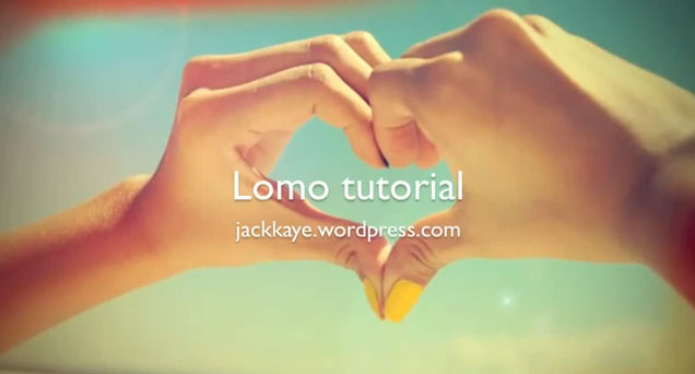 Photoshop Projects Tutorials Photoshop Tutorial Faux Lomo