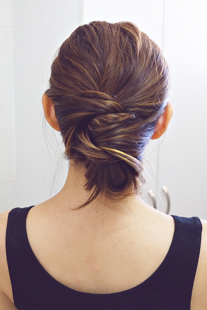 Wrap Around Bun