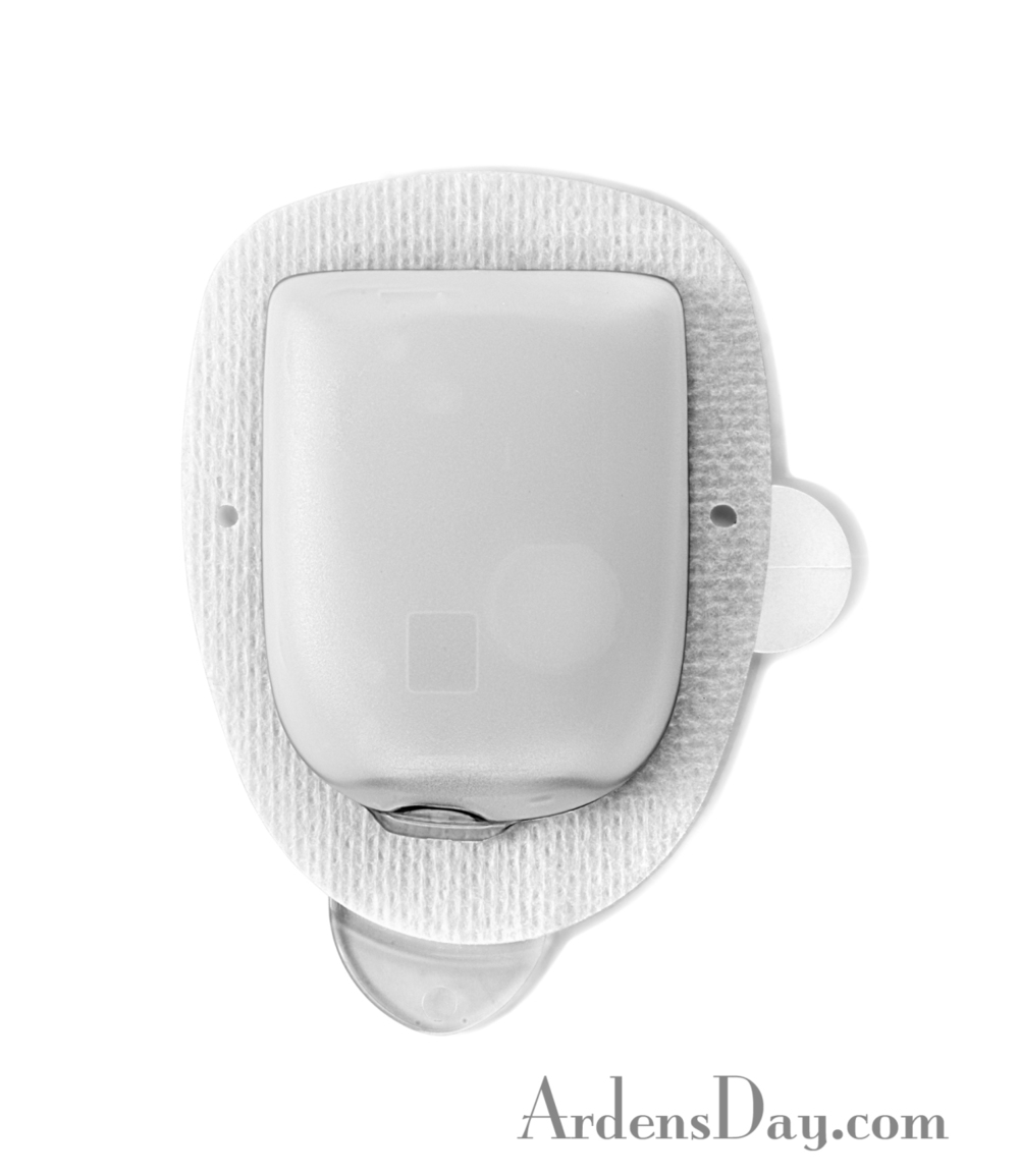 Top View - New OmniPod