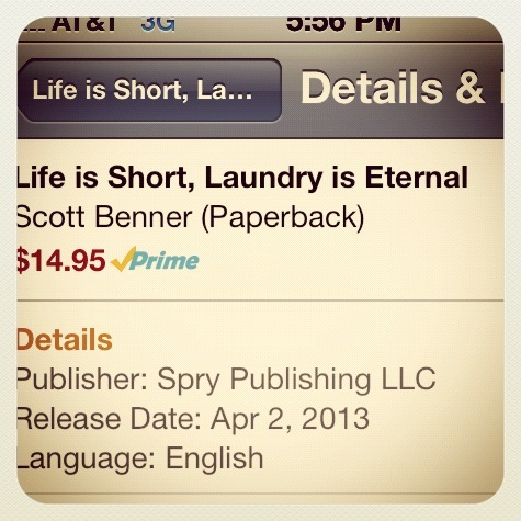 Life is Short, Laundry is Eternal