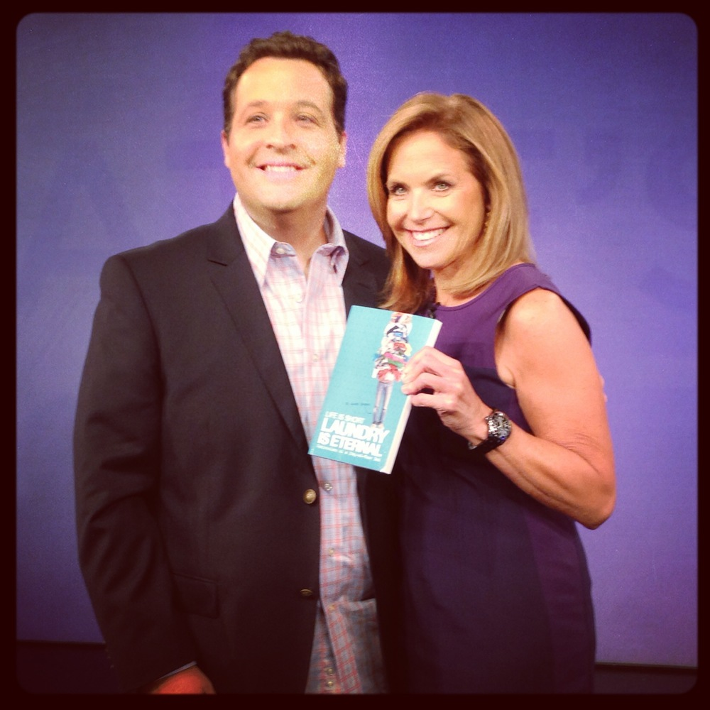 Katie Couric liked my book!