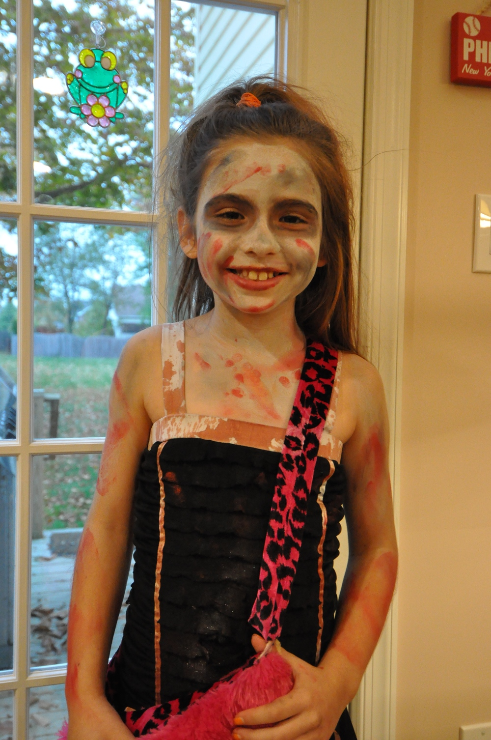 Update   on 2013-11-25 15:40 by Scott Benner  Finally getting around to post a picture of Arden as a zombie.