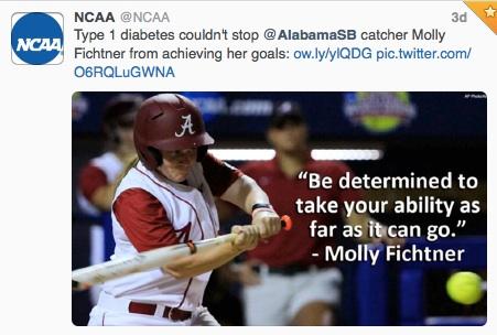 NCAA Tweet