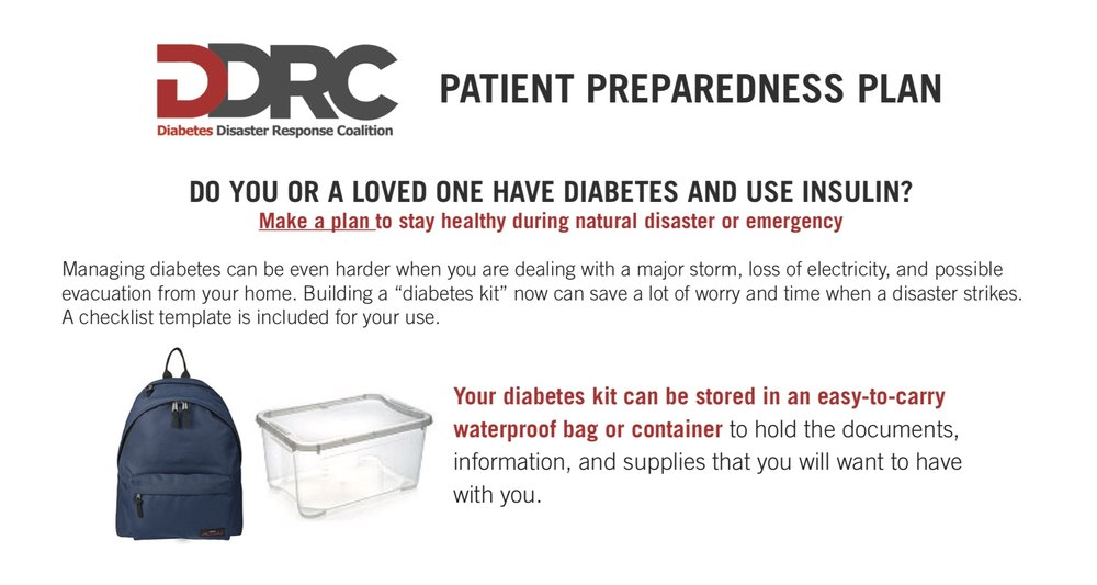 Click to download the DDRC Preparedness Plan in English
