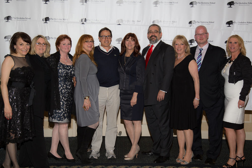 David O. Russell with the Glenholme Development Board