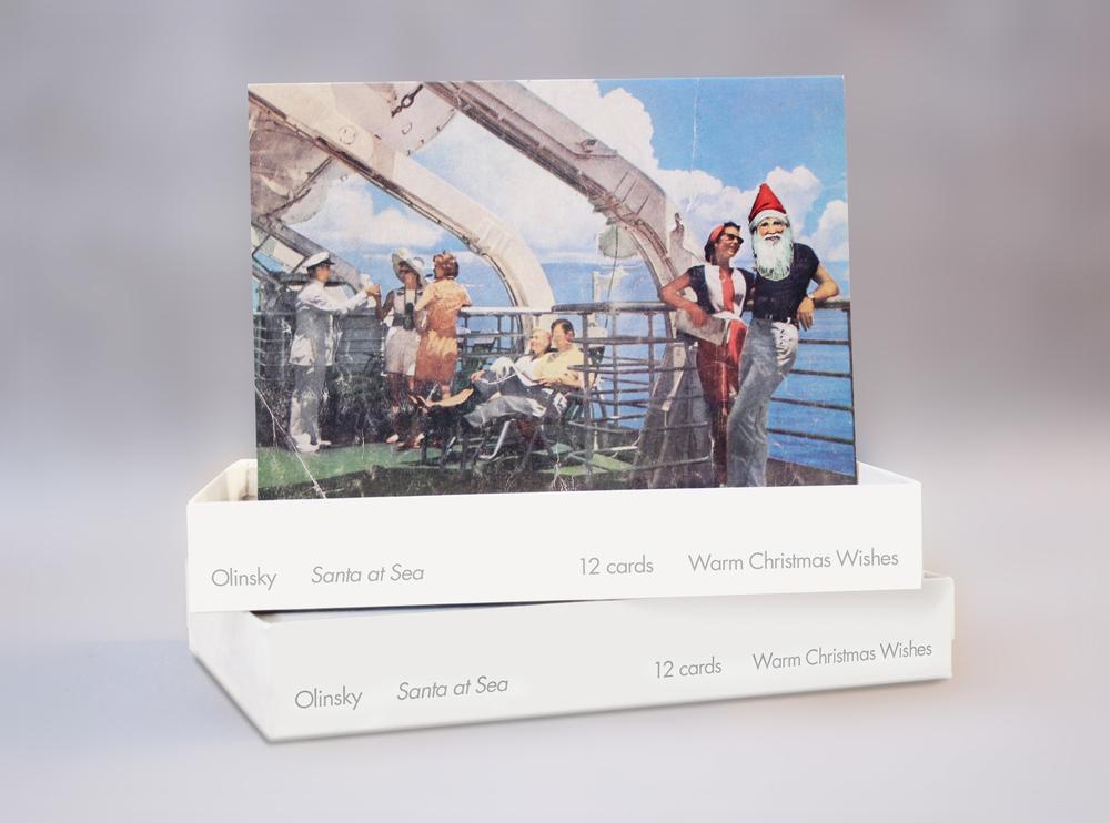 Seasonal Holiday Card- MoMA, NYC