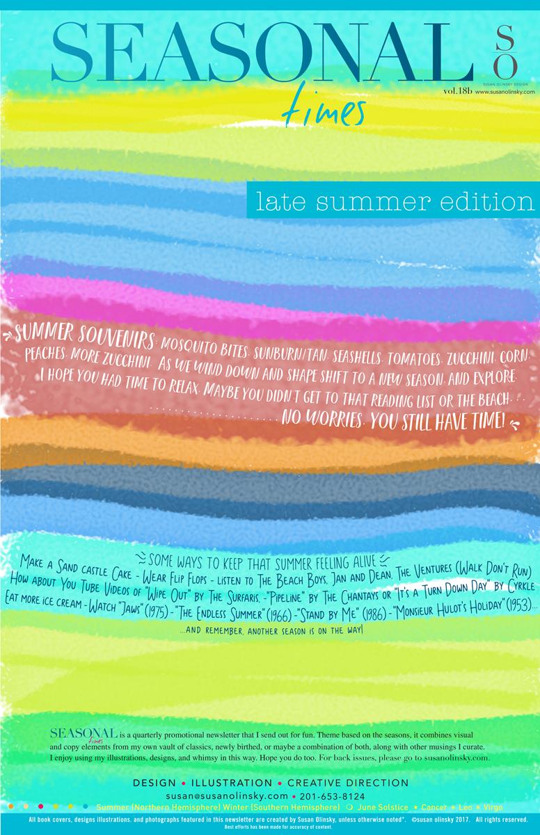 Seasonal-Late Summer-2017