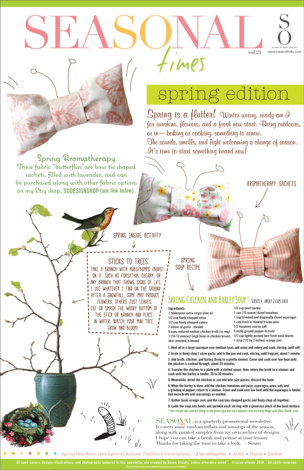 Seasonal-Spring 2018
