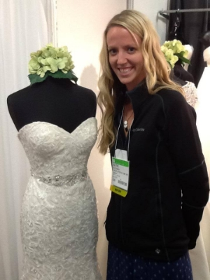Consultant Katie Eastman during Dallas Bridal Market