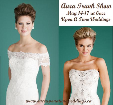 Aura Trunk Show   Bridal Shop   Wedding Dresses   London Ontario