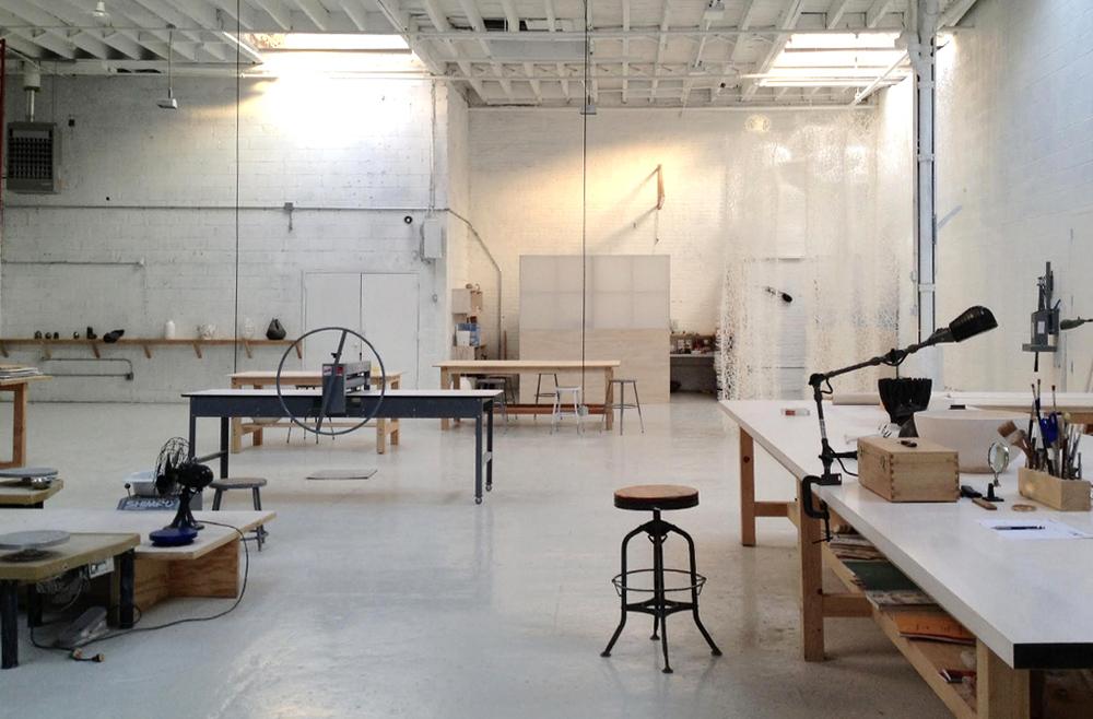 Sculpture design and ceramics studio sculpture space for Spaces architecture studio delhi