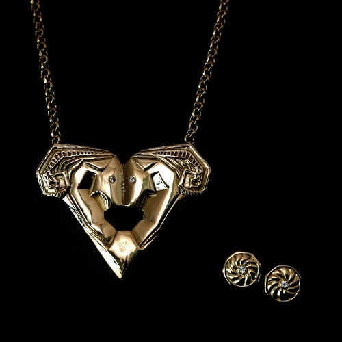 Bisjoux aries necklace aloadofball Choice Image