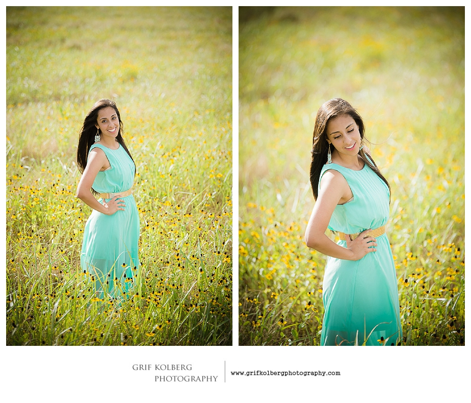 Richmond TX Senior Portrait Photographer, Sugar Land Senior Portrait Photographer - Travis High Senior Photo