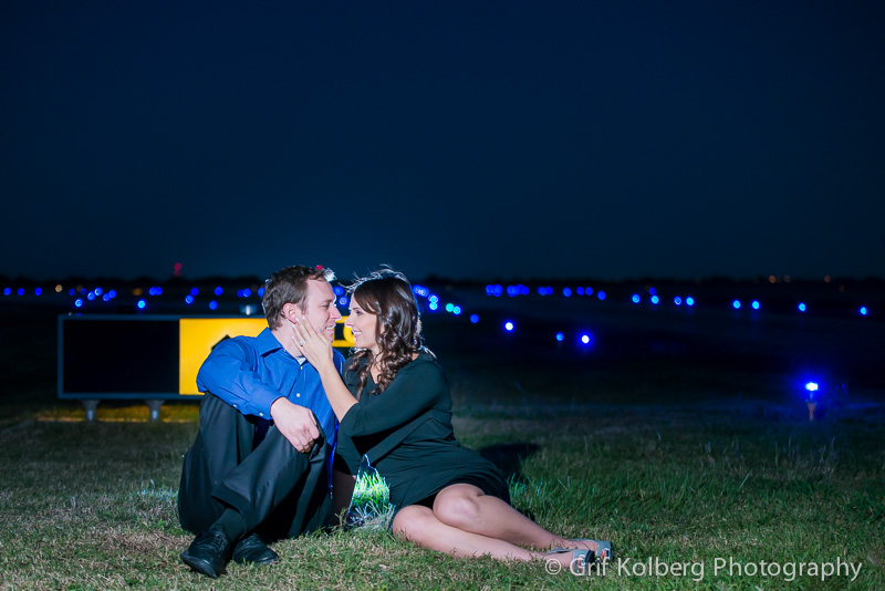 Katy Engagement Photographer - April & Travis Engagement Session