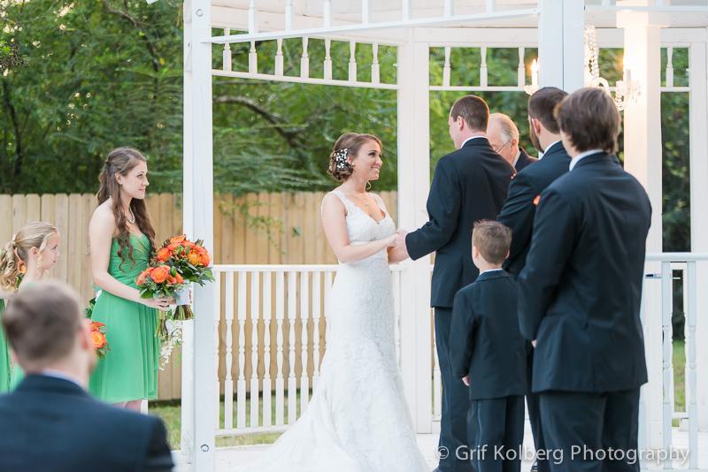 Ella's Garden Wedding, Outdoor Wedding Ceremony, Tomball, TX, Sugar Land Wedding Photographer