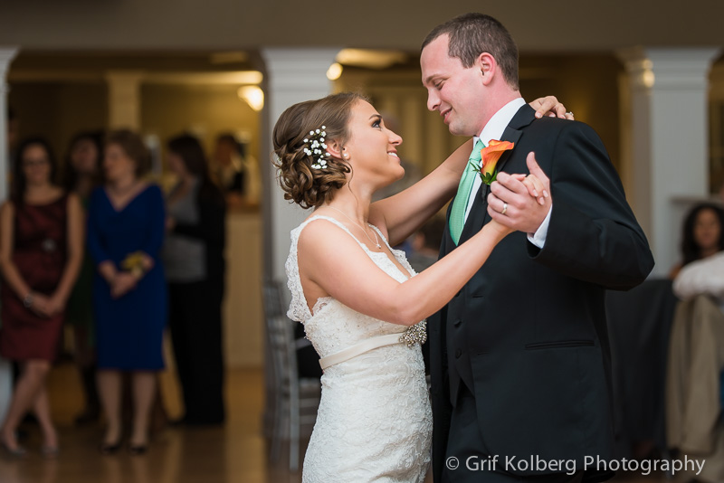 Ella's Garden Wedding, Tomball Wedding Photographer, Reception photo, Bride and Groom, first dance