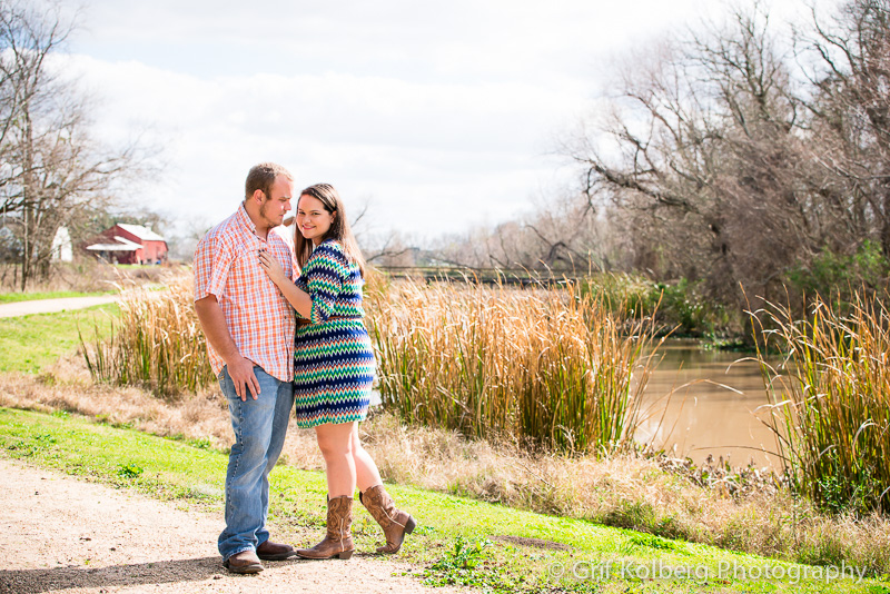 Houston Wedding Photographer, George Ranch Historical Park, Engagement Seesion