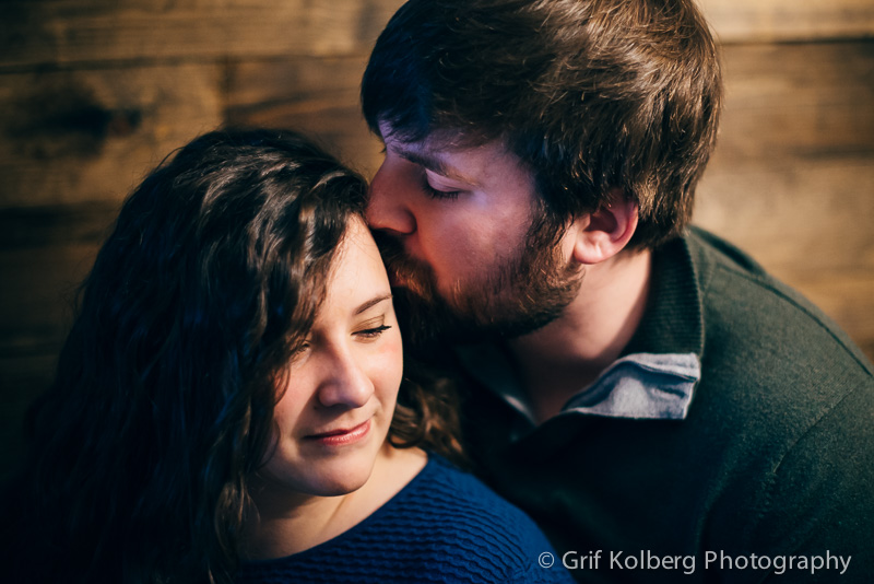 Engagement Session in Lake Mills, IA - Destination Wedding Photographer