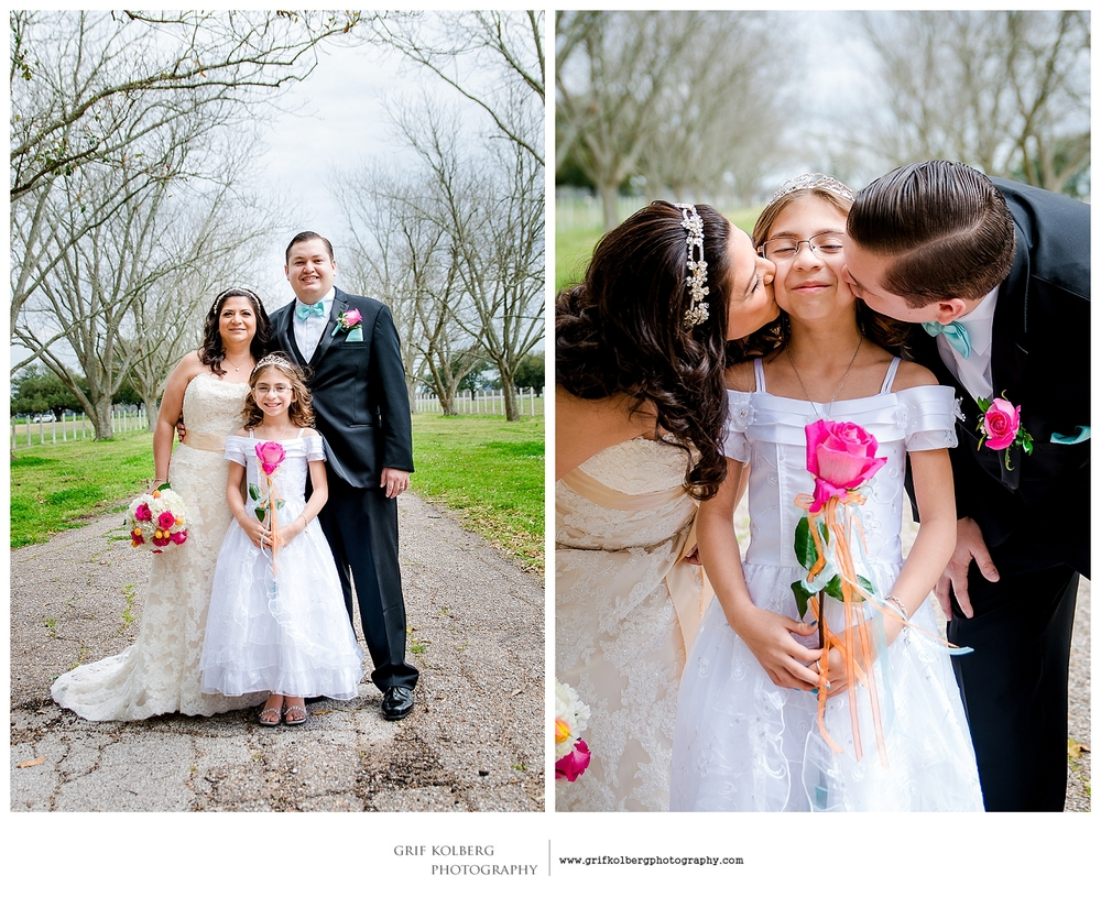 Family Wedding, Sugar Land Wedding Photographer - George Ranch Historical Park Wedding