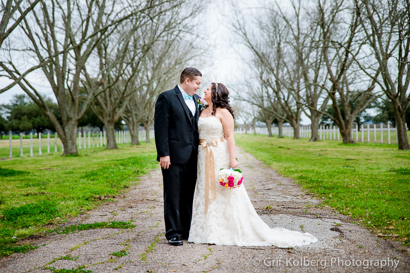 Wedding Portrait at George Ranch Historical Park, Houston Wedding Photographer