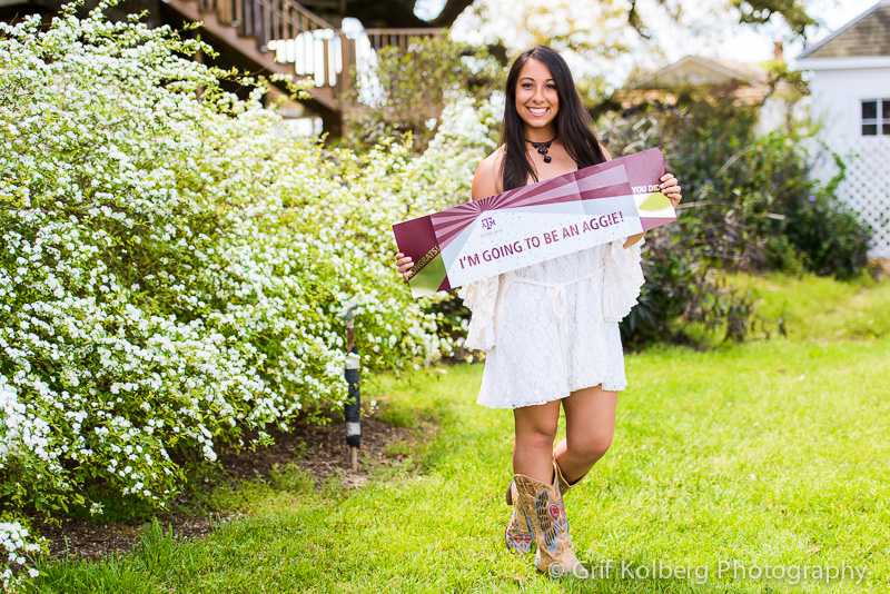 Graduation Photo, Aggie, Whoop, GRHS Senior, GRHS