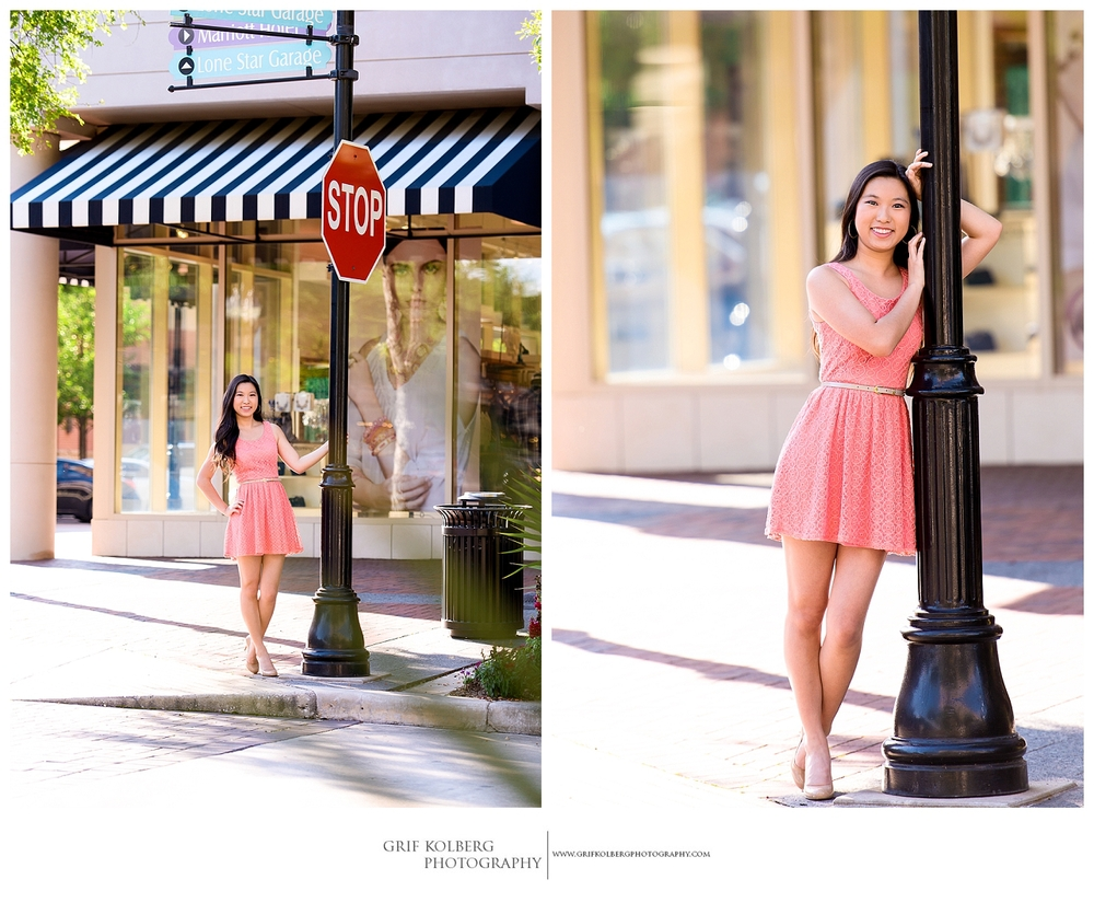 Clements High School Senior Portrait Session - Sugar Land, Texas