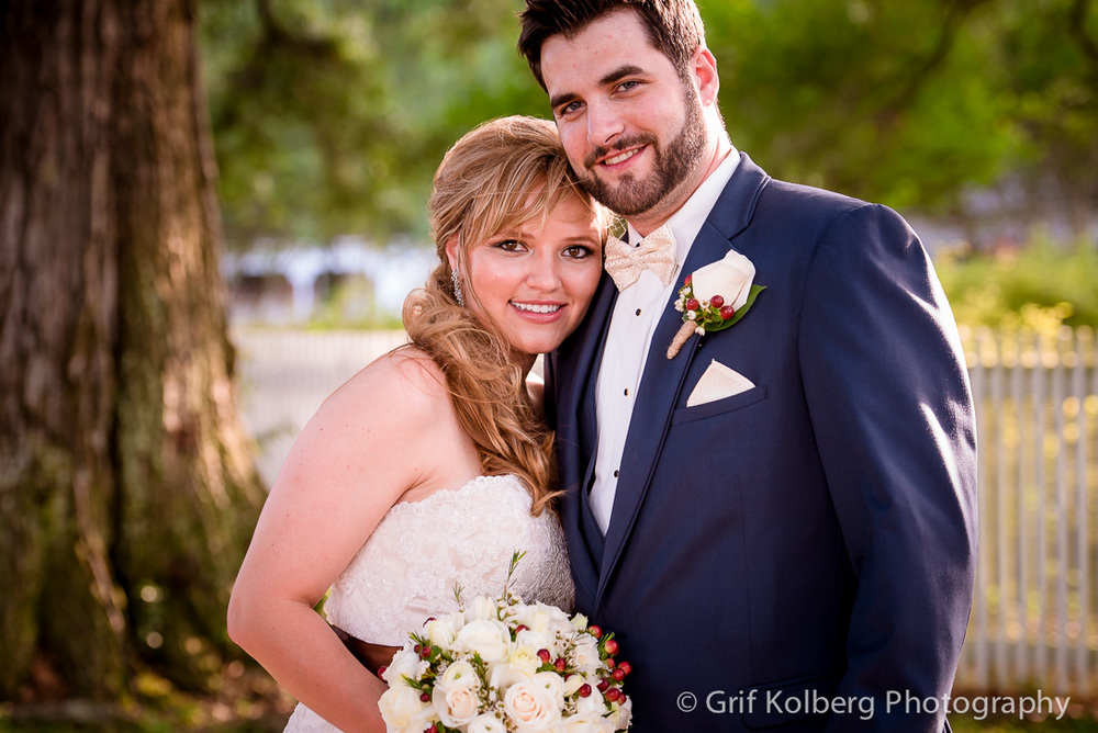 Wedding Portrait at George Ranch Historical Park