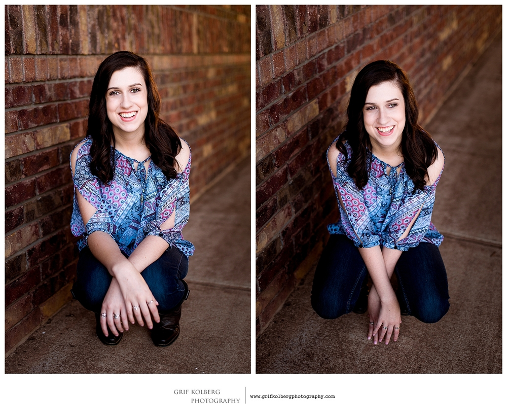George Ranch High School Senior Photo  - Sugar Land Senior Portrait Photographer