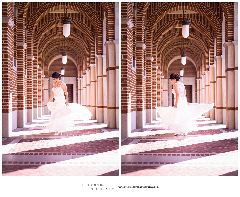 Houston Wedding Photographer - Bridal Session at Rice University