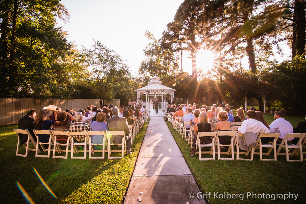 Tomball Wedding Photography - Ella's Garden Wedding