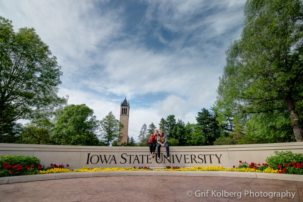 Carlie + Evan | Iowa State University | Iowa Engagement Photography