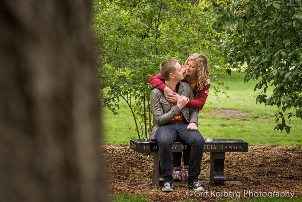 Carlie + Evan | Iowa State University | Iowa Engagement Photography