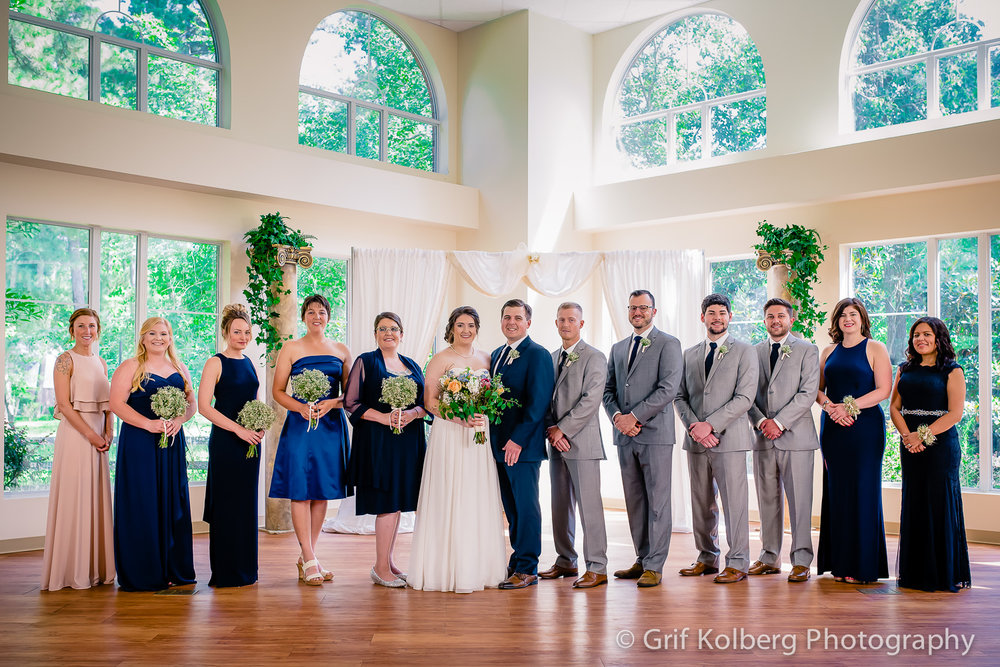 Belle Rose Mansion Wedding | Conroe Wedding Photographer