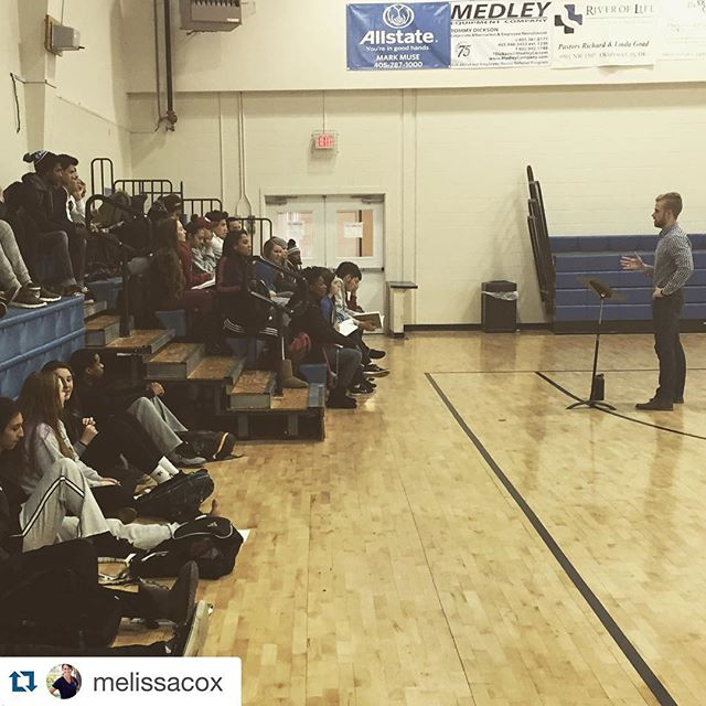 So thankful... #Repost @melissacox with @repostapp. ・・・ Thank you @codybobay for coming to speak truth into the lives of SCU students today!! Powerful message and idea that living in optimal health is about making your brain your servant and not your master. You can find more info about Cody at soulconchallenge.com! 👊🏻