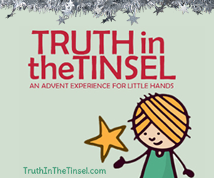 Use coupon code HOMESCHOOLINGINRL and receive 20% off the Truth in the Tinsel eBook!