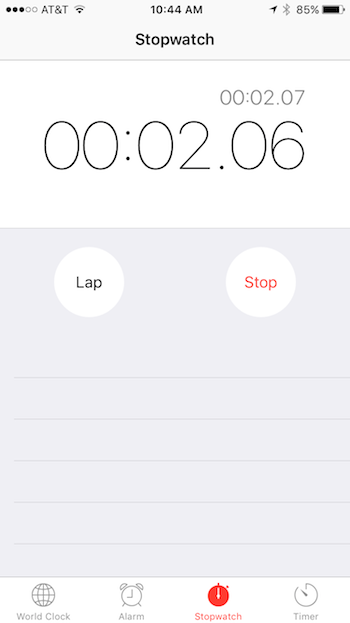 Homeschooled Boys: Why Apple made a stopwatch on every iPhone.
