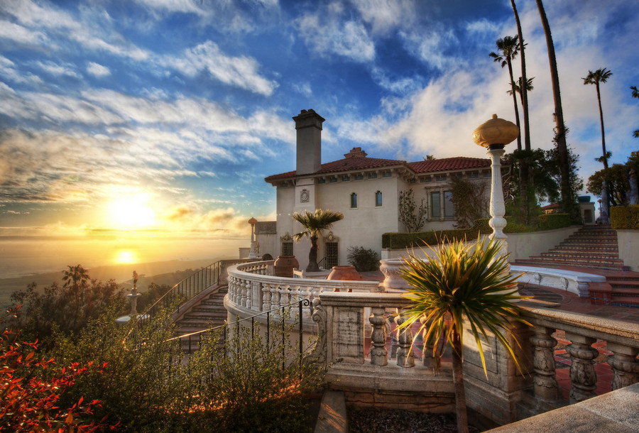Explore the famous Hearst Castle. Photo Credit to the Travel Channel.