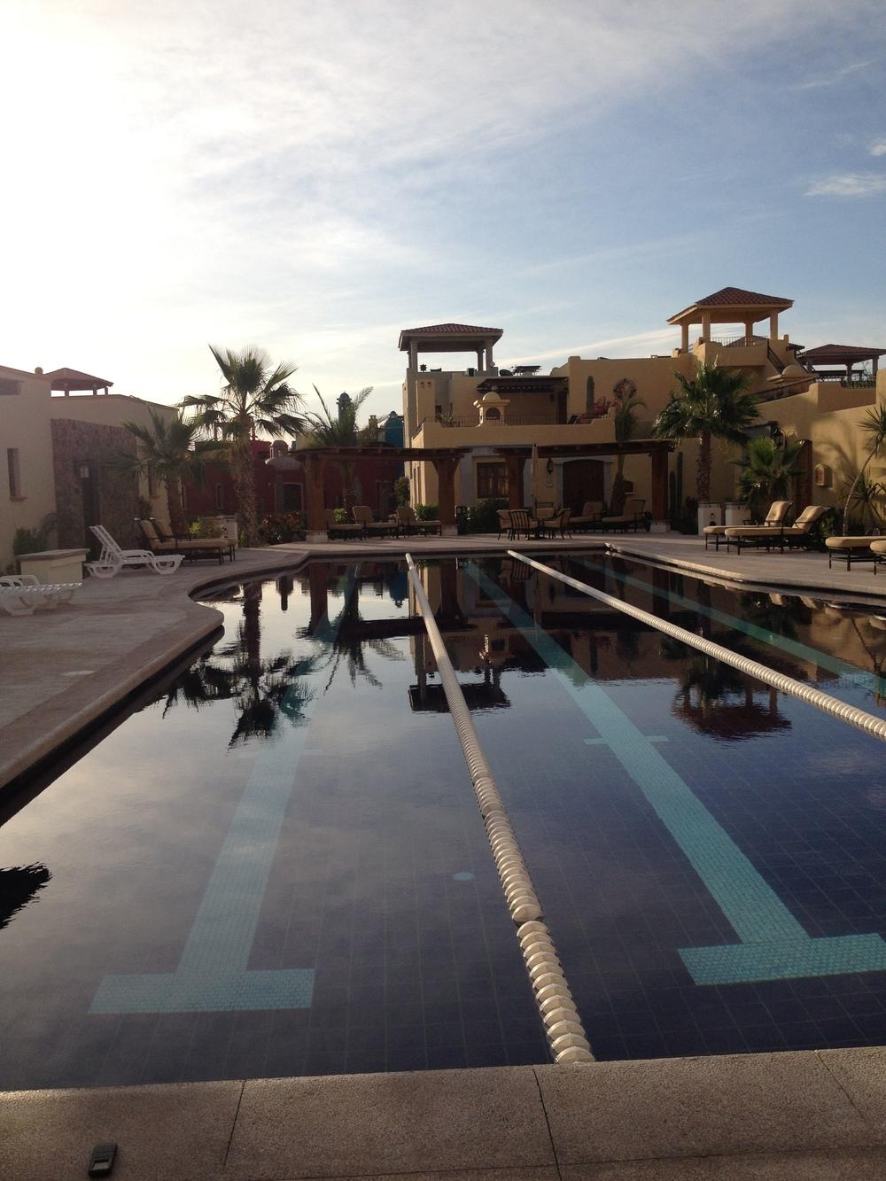 One of many Loreto Bay pools